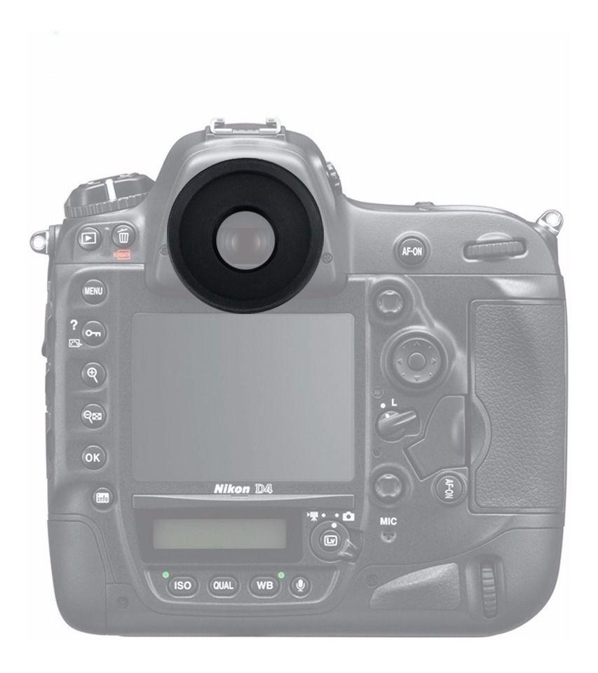 Ocular Eyecup DK-19 Nikon D1 D2 D2H D2Hs D2X D2Xs D3 D3s D3X D4 D4s D5 D500 D700 D800 D810 D850 DF F5 F6 entre outras
