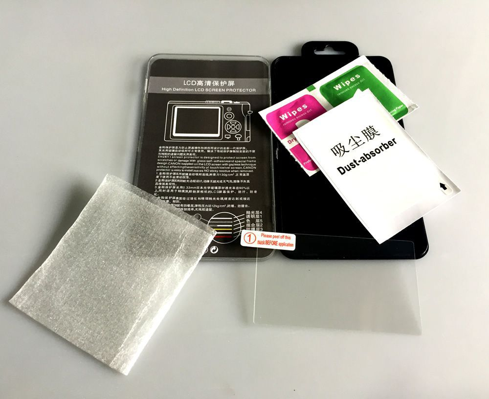 Película de Vidro Protetor LCD Câmera Canon 5D (Mark I)