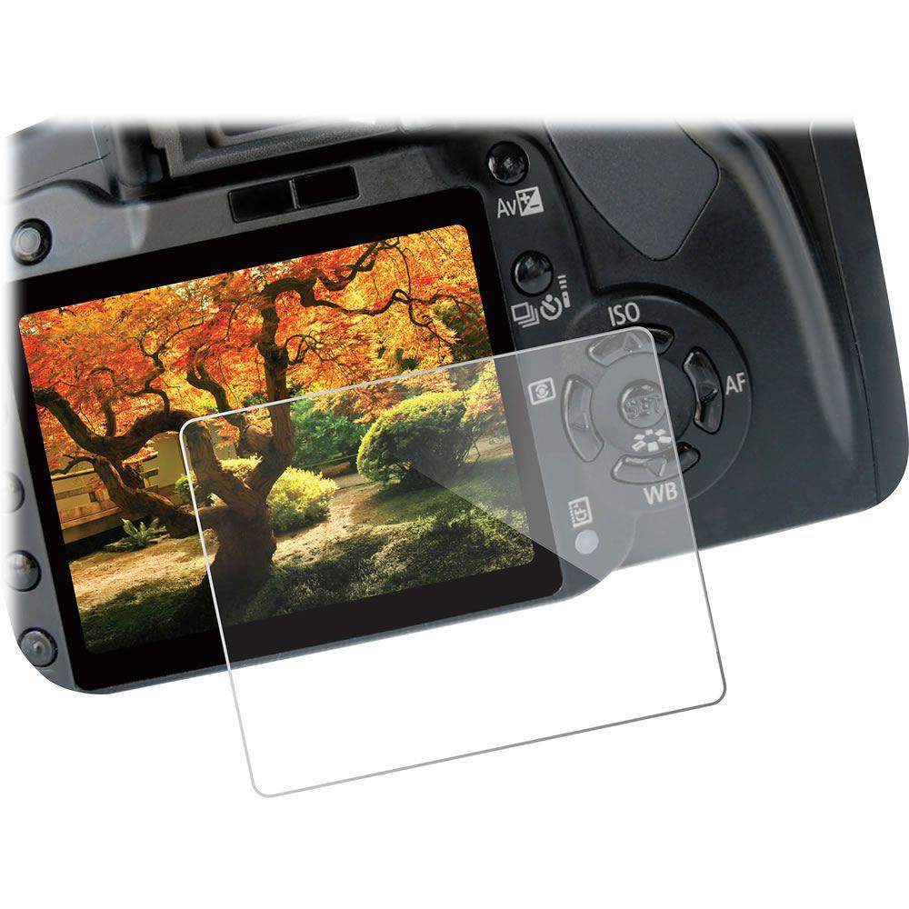 Película de Vidro Protetor LCD Câmera Canon 6D 60D T3i 600D