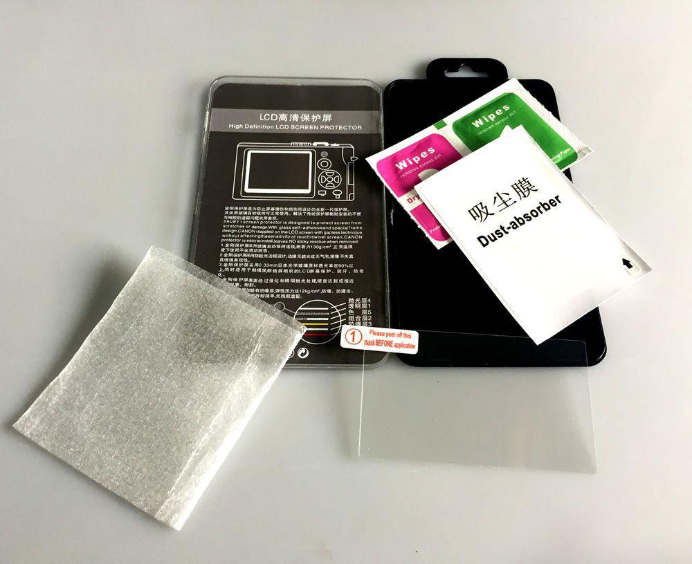 Película de Vidro Protetor LCD Câmera Canon Xsi T1i 450D 500D