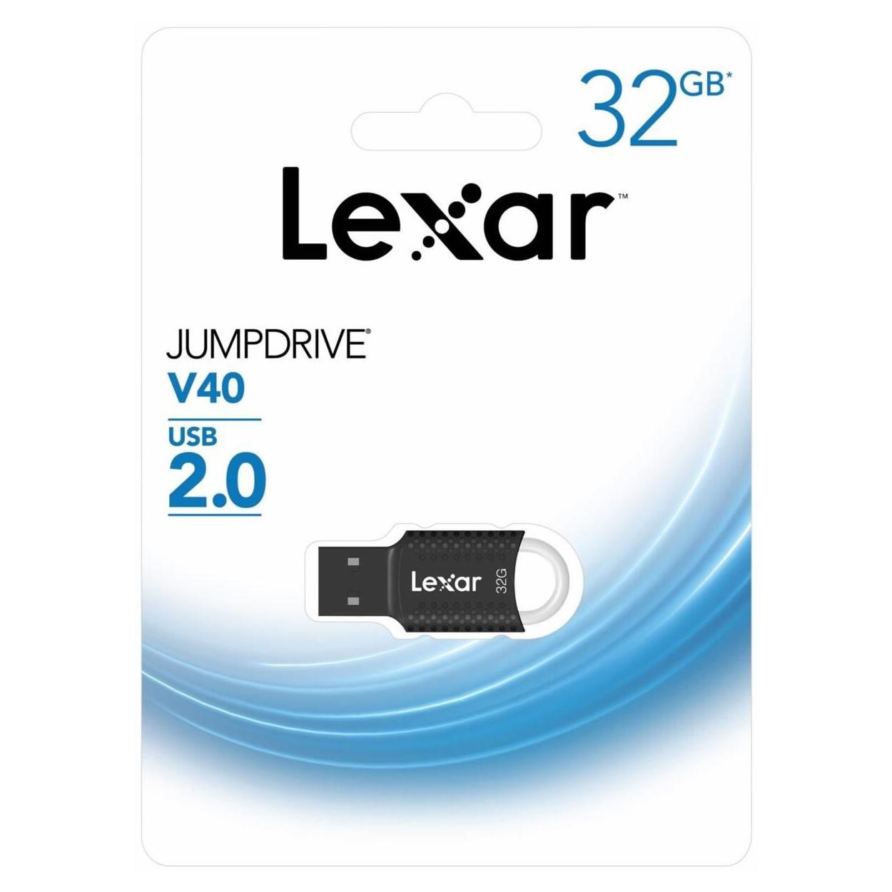 Pen Drive 32GB USB 2.0 Lexar LJDV40-32GAB