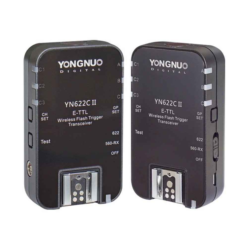 Radio Flash Yongnuo Yn-622C II TTL YN622C para Canon Transmissor e Receptor