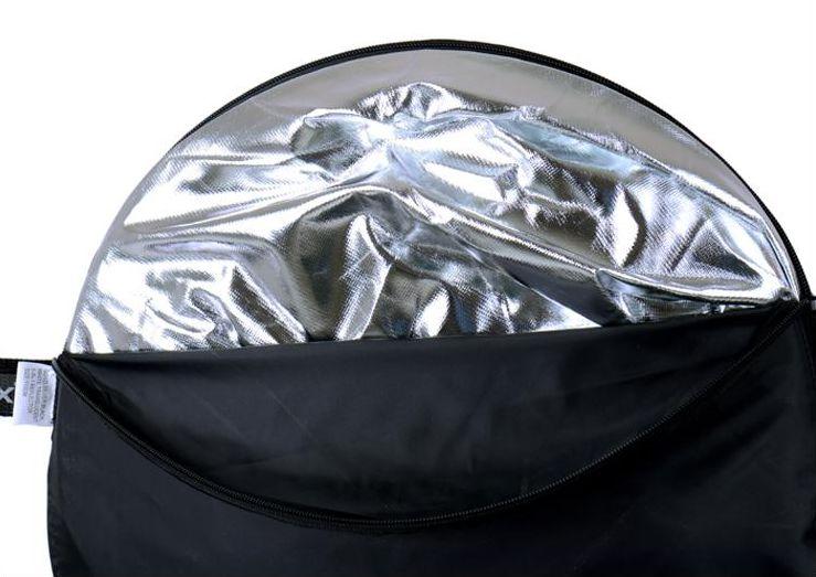 Rebatedor Fotográfico Retangular ou Oval 5 em 1 60x90cm Fotografia Profissional Tmt