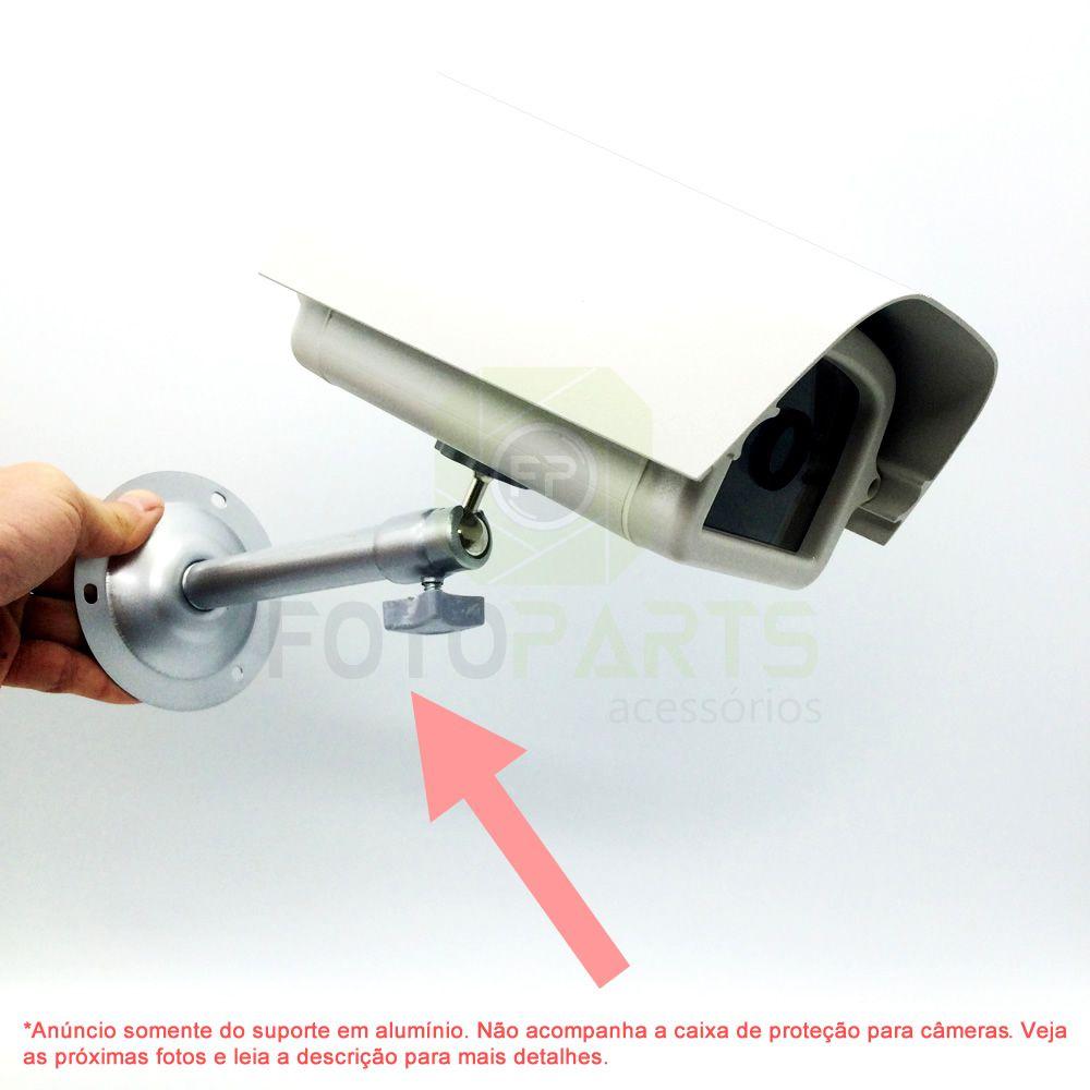 Suporte de Parede e Teto Para Câmeras de Segurança em Alumínio