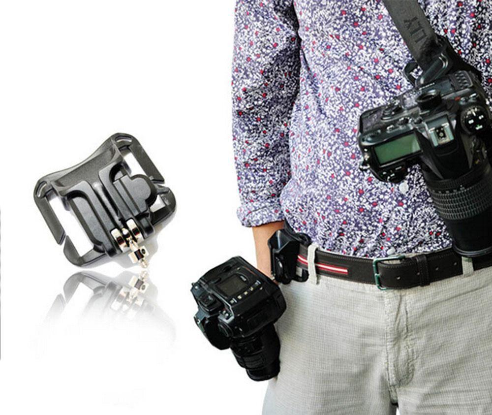 Suporte Engate Pendurar Câmera Fotográfica No Cinto Cintura