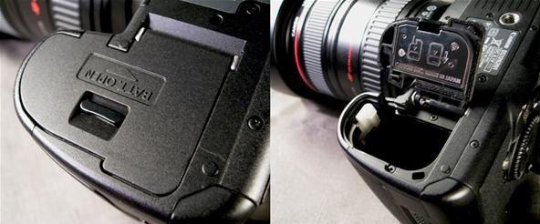 Tampa Do Compartimento Bateria Câmera Modelo Canon 5d