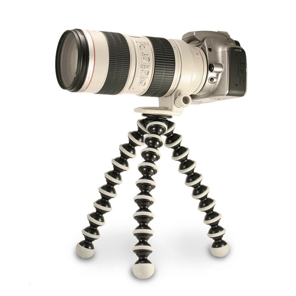 Tripé Flexivel Gorilla Gorila P/ Câmera Fotográfica, Gopro ou Celular Vários Tamanhos P, M, G e XG