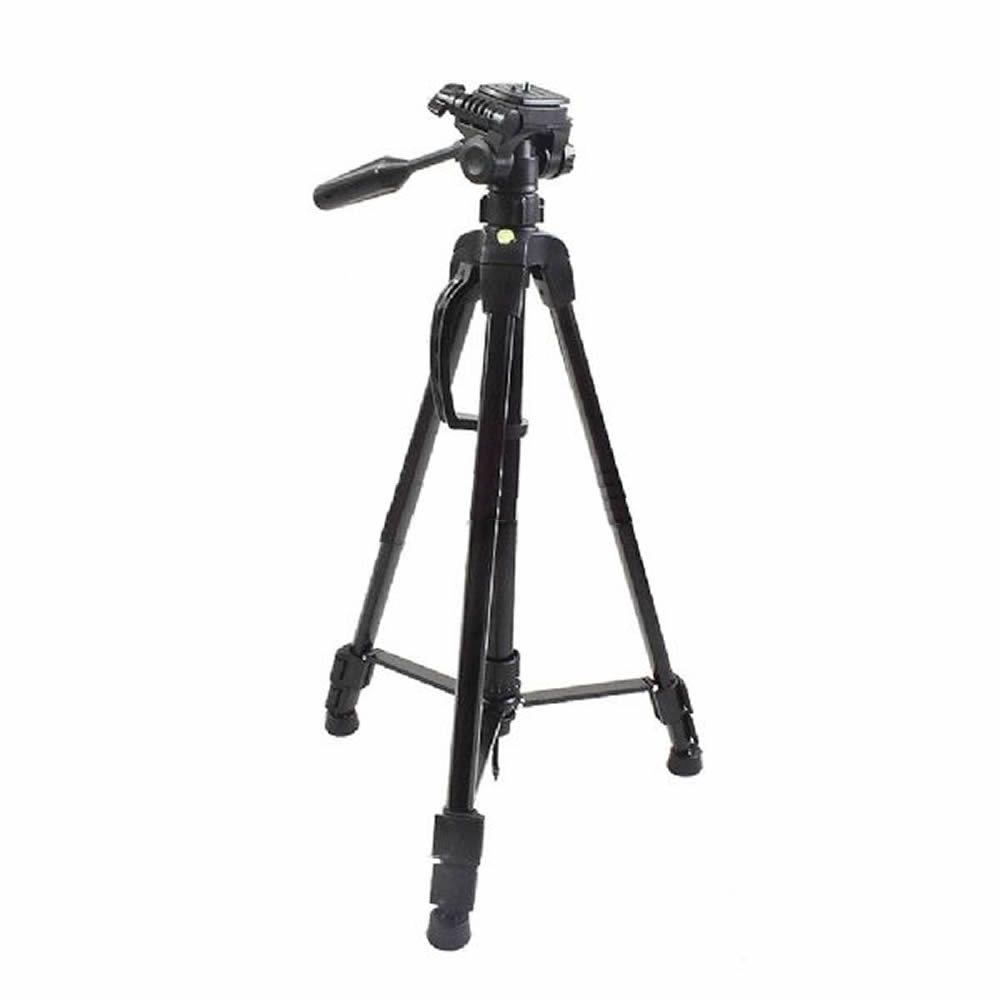 Tripé Profissional Fotográfico em Alumínio até 150cm Suporta até 10kg c/ Bolsa e Suporte Celular ET-3780