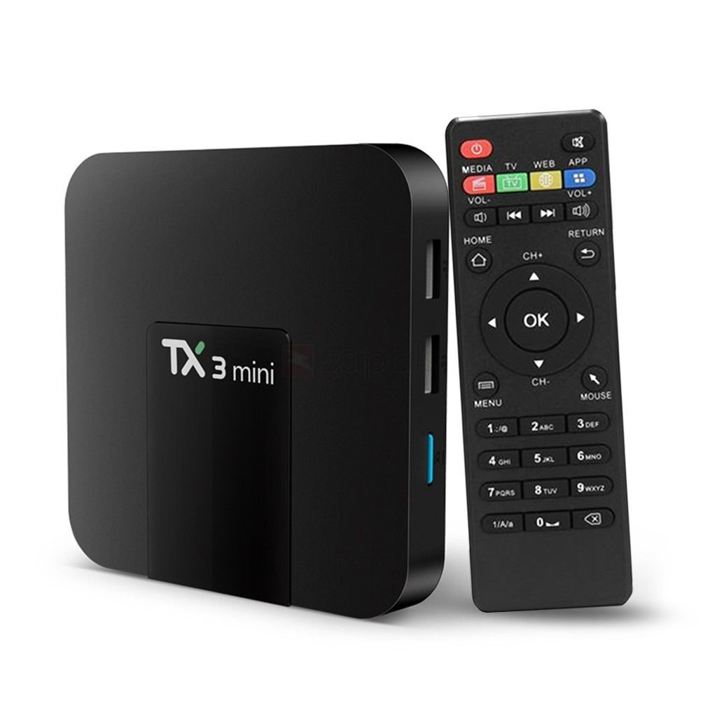 TV Box TX3 Mini 4GB Ram 32GB Rom Android 8.1 Nova Versão 2020