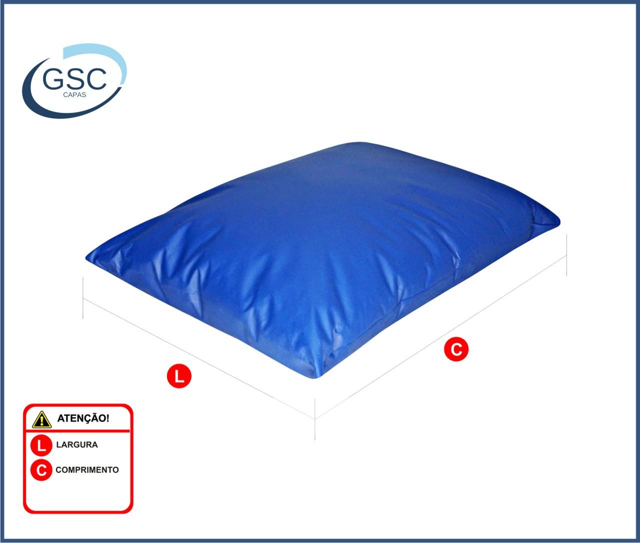 Capa Hospitalar Impermeável Soldada Travesseiro