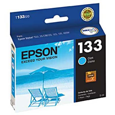 CARTUCHO 133 T133220 CIAN EPSON