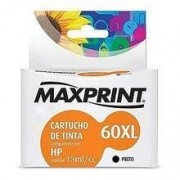 CARTUCHO COMPATIVEL COM HP 60XL PRETO 611172-1 MAXPRINT