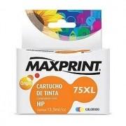 CARTUCHO COMPATIVEL COM HP 75XL COLORIDO 611174-1 MAXPRINT