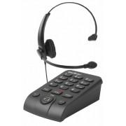 TELEFONE HEADSET TELEFONO AURICULAR HSB 50 INTELBRAS