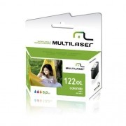 CARTUCHO COMPATIVEL COM HP 122XL COLORIDO CO339 MULTILASER