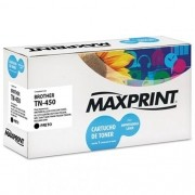 TONER COMPATIVEL COM BROTHER TN-450 PRETO 561289-5 MAXPRINT