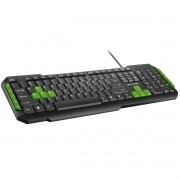 TECLADO MULTIMIDIA GAMER USB TC201 MULTILASER