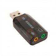 ADAPTADOR USB X AUDIO E FONE MD9