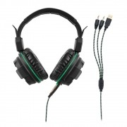 FONE DE OUVIDO HEASET GAMER WARRIOR C/ LED PH143 MULTILASER