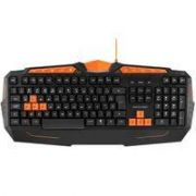 TECLADO GAMER MULTIMIDIA PRETO/LARANJA TC211 MULTILASER