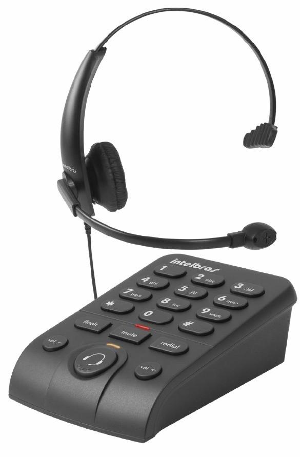 TELEFONE C/ HEDSET E FONE HSB 50 INTELBRAS