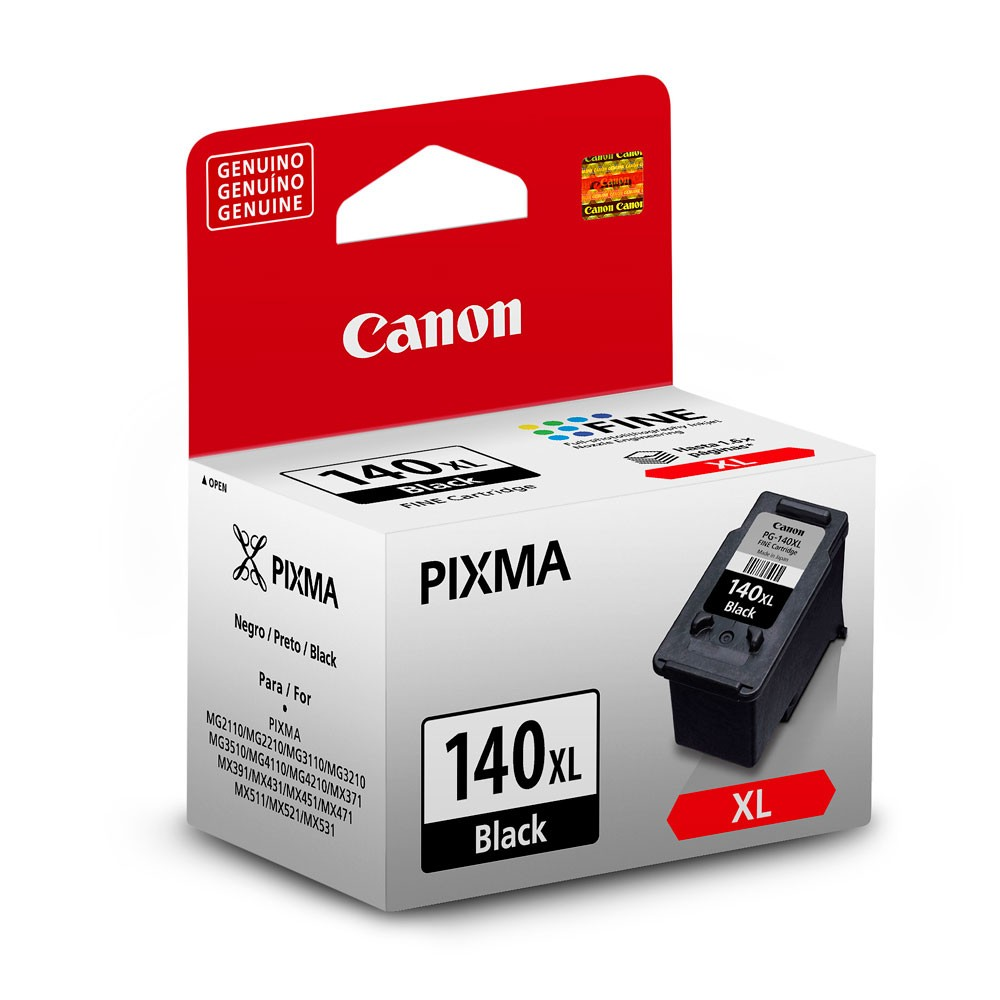 CARTUCHO 140XL PRETO CANON