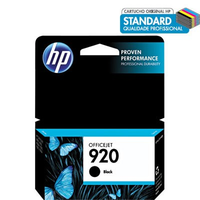 CARTUCHO 920 CD971AL PRETO HP
