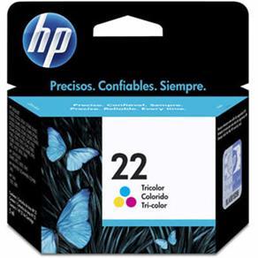 CARTUCHO 22 C9352AB COLORIDO HP