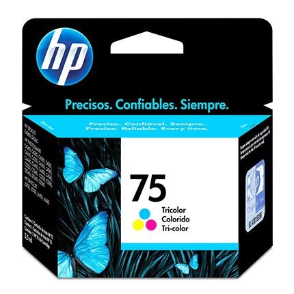 CARTUCHO 75 CB337WB COLORIDO HP