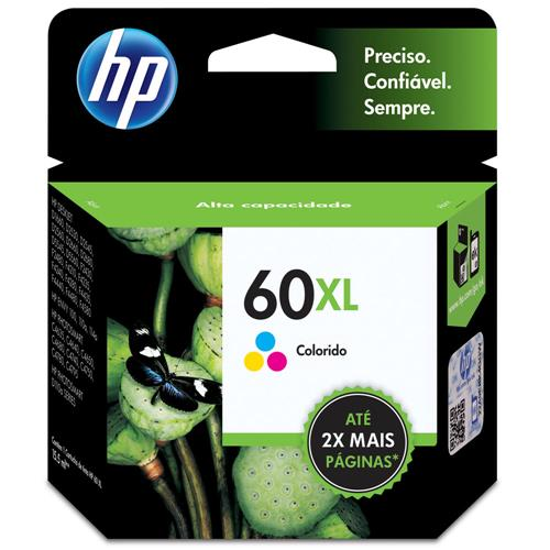 CARTUCHO HP Nº 60XL COLOR (CC644WB)