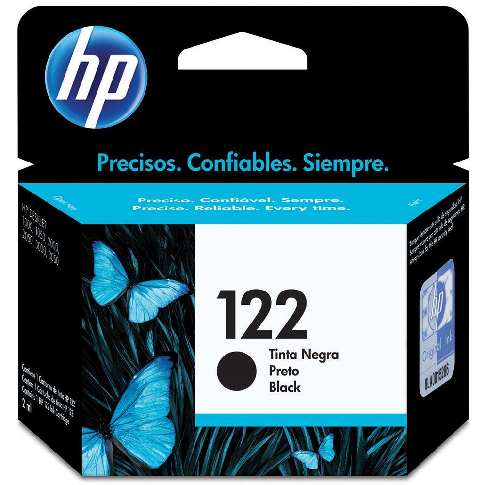 CARTUCHO 122 CH561HB PRETO HP