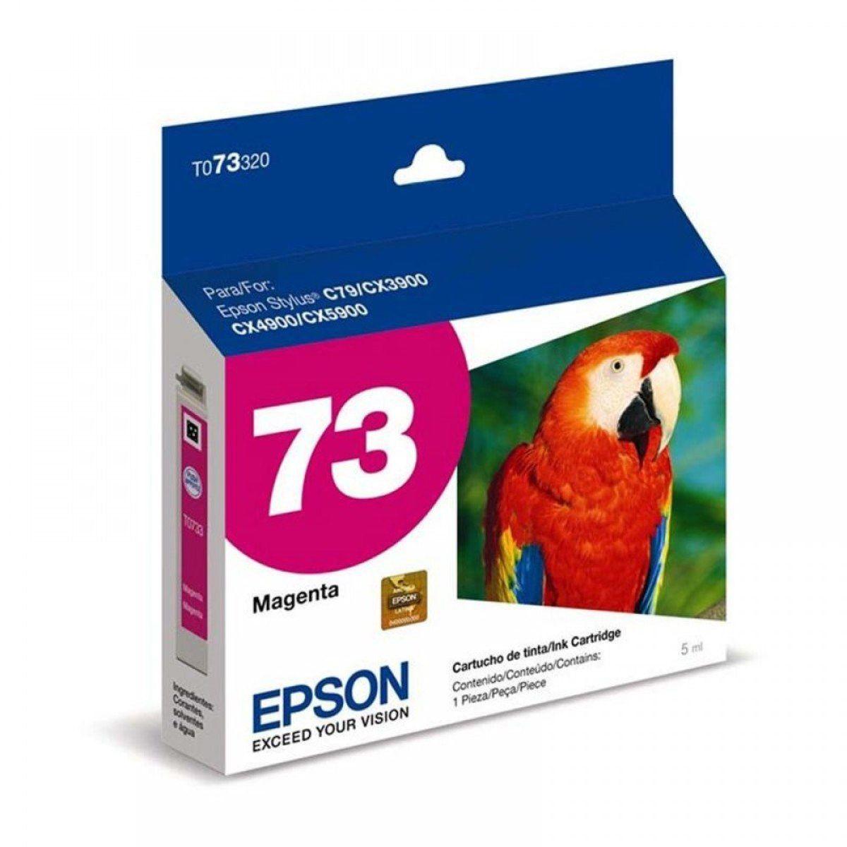 CARTUCHO 73 T073220 CIAN EPSON