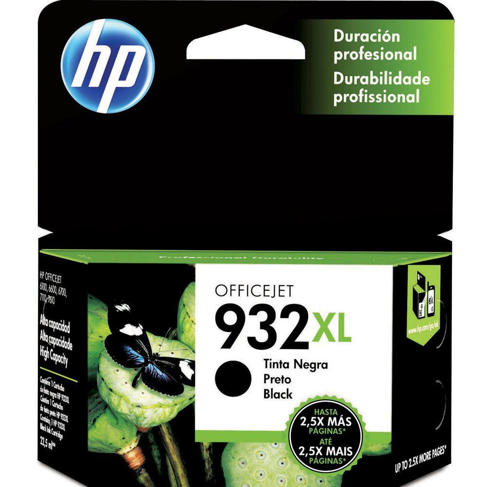 CARTUCHO CN053AL PRETO 932XL HP
