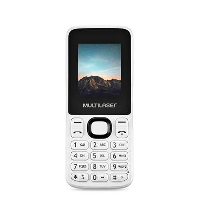 CELULAR NEW UP DUAL CHIP BRANCO P9033 MULTILASER