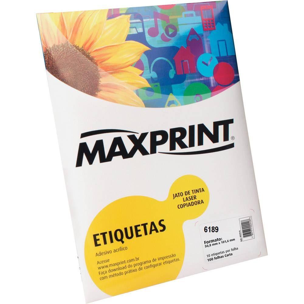 ETIQUETAS ADESIVA ACRILICA 49351-0 MAXPRINT