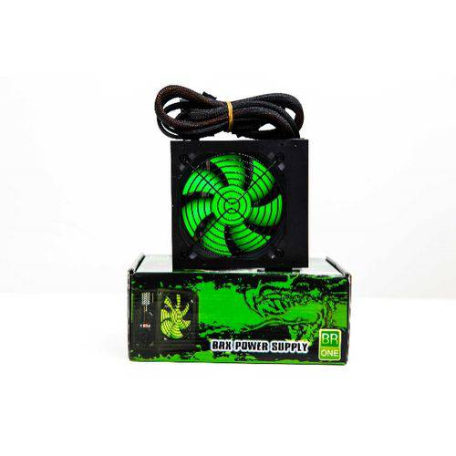 FONTE ATX 800W REAL GREEN TOB GAMER DRAGON