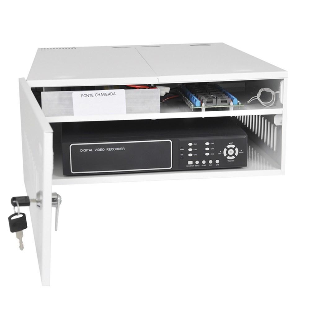 GABINETE ORG. MET MINI IRON 4V C/C HDCVI/TVI 2994 ONIX