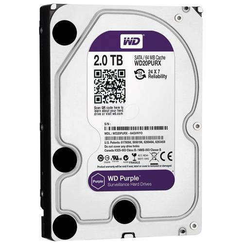 HD 2TB WD20PURZ PURPLE WESTERN DIGITAL