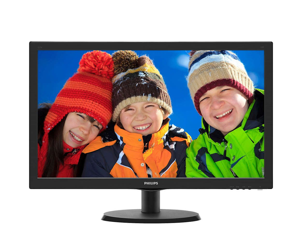 "MONITOR 21,5"" 223V5LHSB2 PHILIPS"