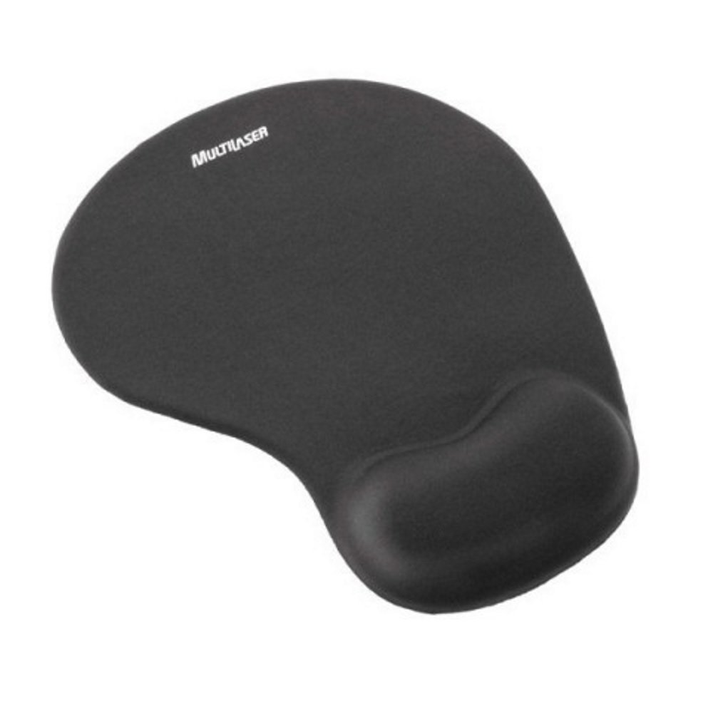 MOUSEPAD GEL PRETO AC024 MULTILASER