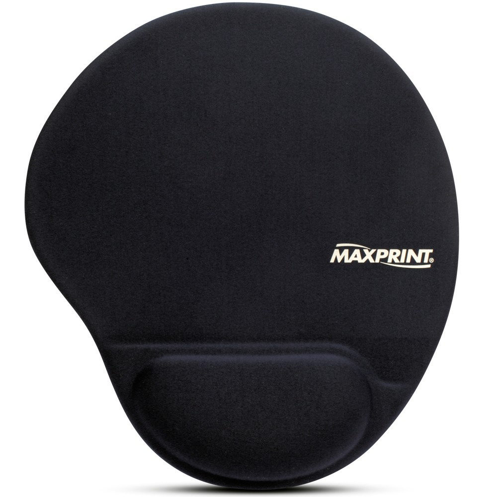 MOUSE PAD GEL PRETO MAXPRINT - 60448-4