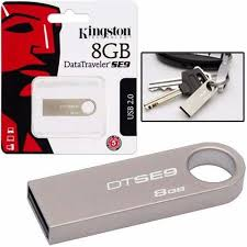 PEN DRIVE 32GB DATATRAVELER SE9 USB2.0 PRATA KINGSTON