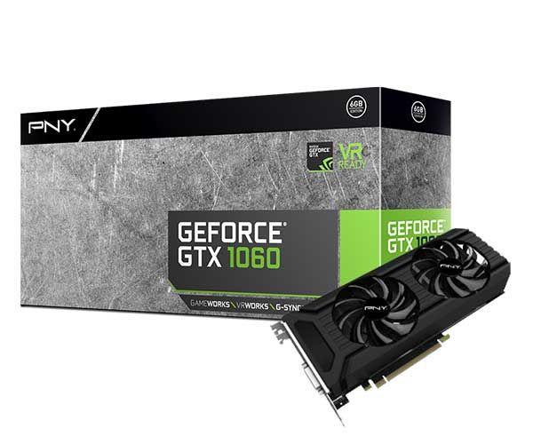 PLACA DE VIDEO GTX 1060 GEFORCE 6GB DDR5 PNY NVIDIA