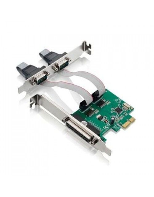 PLACA PCI-E 2S1P C/ 2 SERIAIS E 1 PARALELA LOTUS MD9