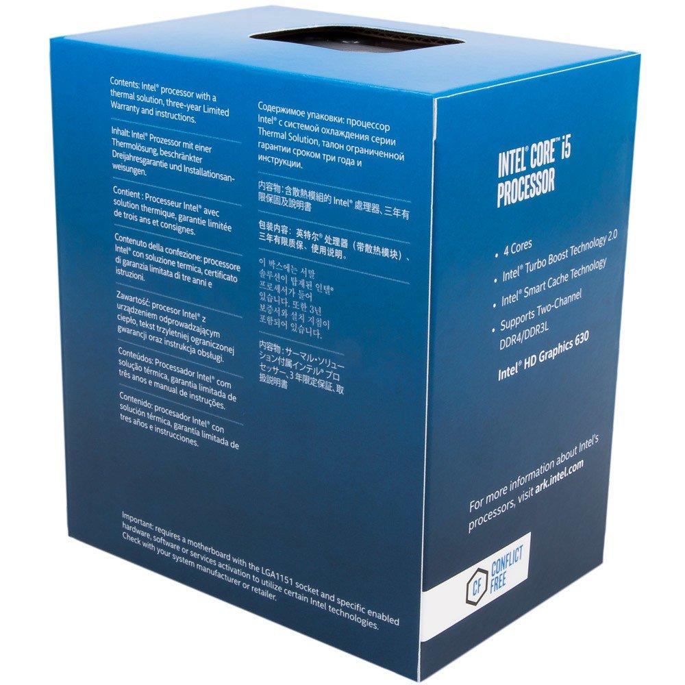 PROCESSADOR I3-7100 LGA1151 INTEL