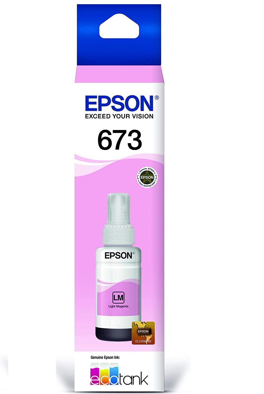 REFIL DE TINTA 673 T673620 MAGENTA LIGHT EPSON