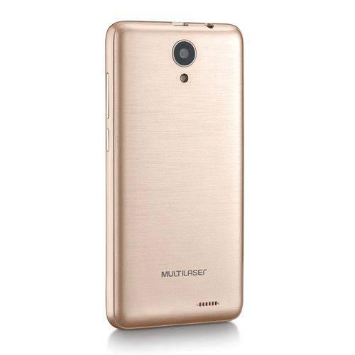 "SMARTPHONE 4.5"" 4G MS45 1GB CAMERA 8MP + 5MP DOURADO/BRANCO NB721 MULTILASER"