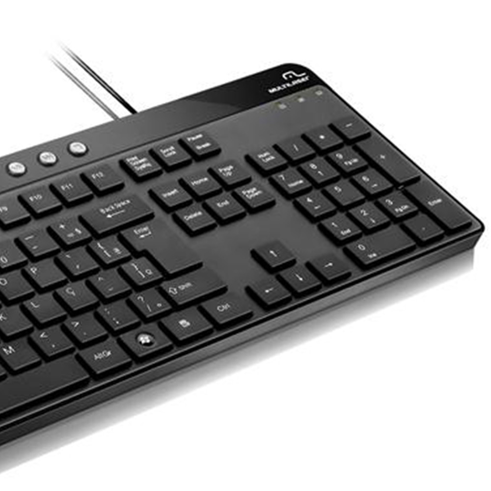 TECLADO MULTIMIDIA TC143 MULTILASER