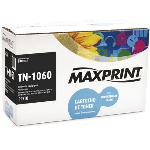 TONER COMP TN-1060 BROTHER PRETO 561294-8 MAXPRINT