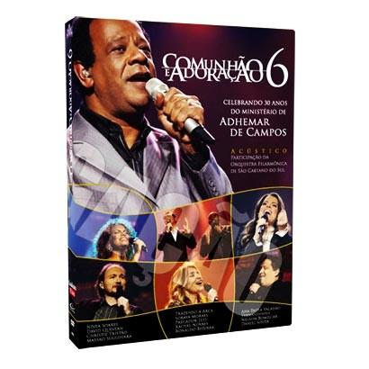 DVD Comunhão e Adoração 6 - Adhemar de Campos - PROMESSAS PRECIOSAS